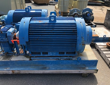 MOTOR 250HP 3575 RPM TEFC TOSHIBA  & Parts Surplus / Used